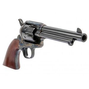 """Cimarron Model P Old Model 1873 Revolver 357 Mag 4.75"""" Barrel 6 Rounds Wood Grips Case Hardened/Blued"""