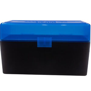 Berry's Ammo Box .243/.308 50 Round Polymer Blue/Black