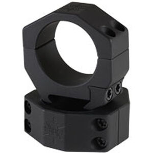 Seekins Precision 34mm Scope Rings AR High Height 4 Screw Aluminum Black