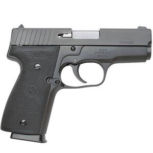 "Kahr Arms K9 Semi Auto Handgun 9mm Luger 3.46"" Barrel 7 Rounds Fixed Sights Rubber Grips Steel Frame Black Finish K9094"