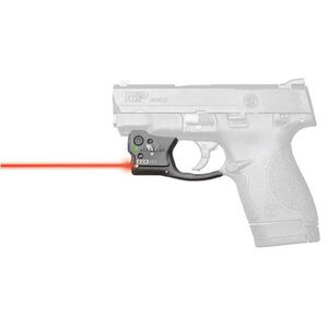Viridian Reactor 5 Gen 2 Red Laser Sight with ECR S&W M&P Shield 9/40 with Ambidextrous IWB Instant-On Holster Polymer Housing Matte Black Finish
