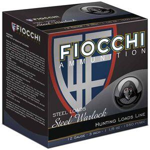 "Fiocchi Steel Warlock 12 Ga 3"" #1 Steel 1.2 oz 25 Rounds"