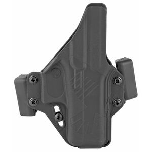Raven Concealment Systems Perun OWB Holster For GLOCK 43 Ambidextrous Draw Matte Black Finish