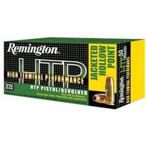 Remington HTP .45 ACP 185 Grain JHP 50 Round Box