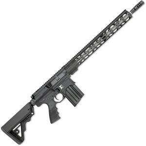 "Rock River LAR-BT3 X-1 .308/7.62x51mm Semi Auto Rifle 20 Rounds 18"" Barrel M-Lok Handguard Collapsible Stock Black"