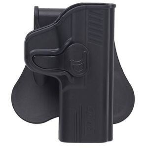 Bulldog Rapid Release Ruger LCP, Kel-Tec P-3AT Paddle Holster Right Hand Polymer Black