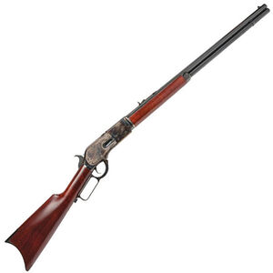 "Cimarron Firearms 1876 Centennial .45-60 Win Lever Action Rifle 28"" Barrel 11 Rounds Walnut Stock Color Case Hardened/ Blue Finish"