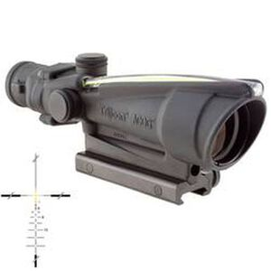 Trijicon ACOG TA11J308-A 3.5x35 Rifle Scope Amber Illuminated Crosshair .308 Ballistic Reticle 1/3 MOA with TA51 Mount Aluminum Black TA11J308-A
