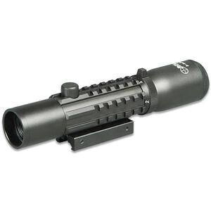 Sun Optics Tri-Rail Tactical 2-6x28 Riflescope Mil-Dot Reticle Picatinny Rail Matte Black