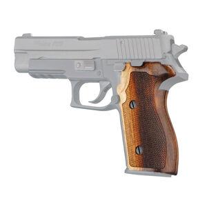 Hogue SIG P227 DA/SA Custom Grip Goncalo Checkered 47260