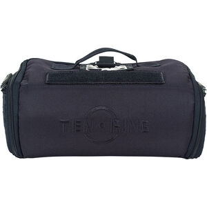 """Voodoo Tactical 10-Ring Q Bag 12""""x9""""x5"""" Qualification Range Bag Durable Synthetic Fabric Navy"""