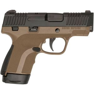 """Honor Guard Sub-Compact 9mm Luger Semi Auto Pistol 3.2"""" Barrel 7 Rounds No Safety Polymer FDE"""