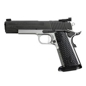 "SIG Sauer 1911 Max Michel Jr .45 ACP Semi Auto Handgun 5"" Barrel 8 Rounds Adjustable Sights Black G10 Grips Two Tone Finish"