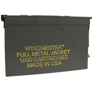 Winchester USA .40 S&W Ammunition 1000 Round Ammo Can 165 Grain FMJ 1060fps