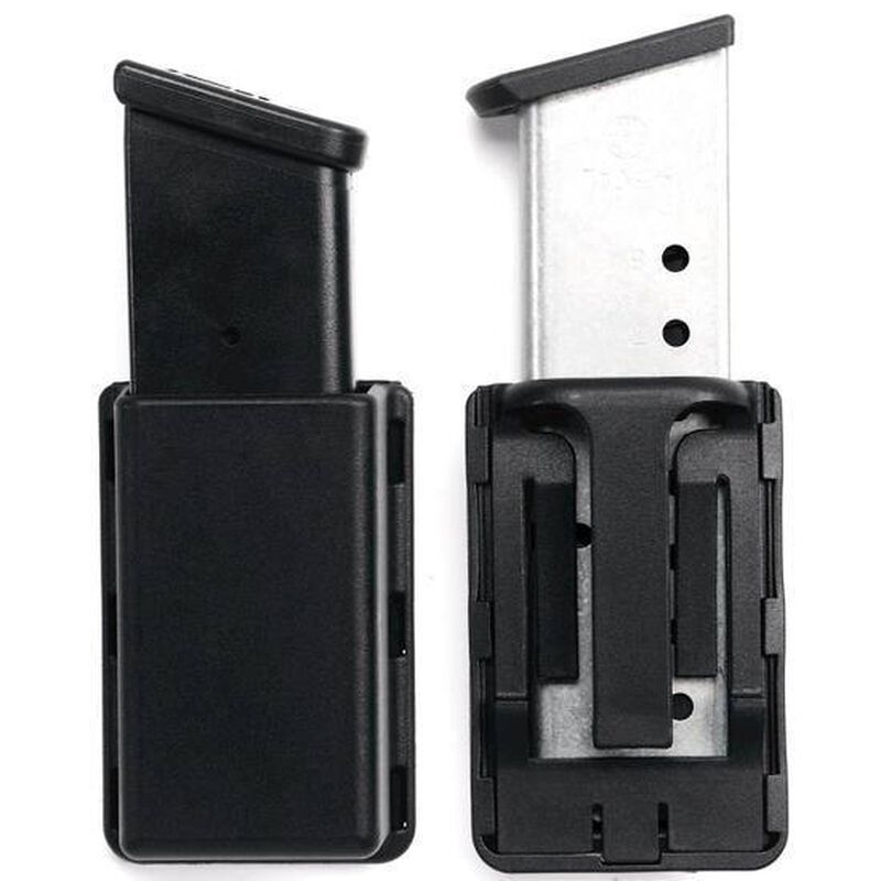Uncle Mike's Kydex Single Mag Double Stack Case Black