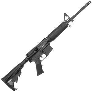 "ArmaLite M-15 DEF15F AR-15 Semi Auto Rifle 5.56 NATO 16"" Barrel 10 Rounds Polymer Hand Guard A2 Front Sight Flash Suppressor Collapsible Stock Black"