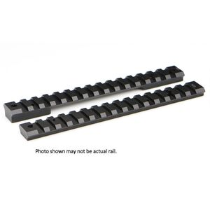 Warne Mountain Tech One Piece Picatinny/Weaver Style Scope Base 20 MOA Winchester 70 Short Action Aluminum Matte Black