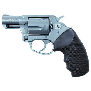 "Charter Arms Undercover Lite Revolver .38 Special +P 2"" Barrel 5 Round Black Rubber Grip Aluminum Stainless Finish 53820"