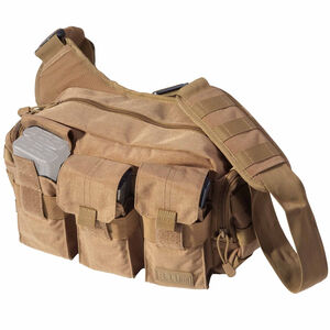 5.11 Tactical Bail Out Bag 9L Capacity 6 AR magazine Storage All Weather 1050D Nylon FDE