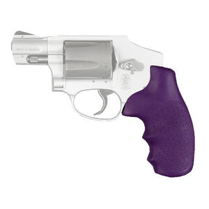 Hogue S&W J Frame Laser Enhanced Grip Polymer Purple