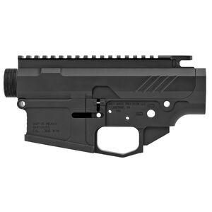 Grey Ghost Precision AR MKII Billet AR-10 Upper/Lower Receiver Set Billet Aluminum Hard Coat Anodized Matte Black