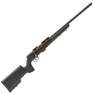 "Savage MK II TRR-SR Bolt Action Rifle .22 Long Rifle 5 Rounds 22"" Threaded Barrel 5 Rounds Matte Black Wood Stock"