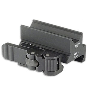 Midwest Industries Quick Detach Optic Mount Trijicon Mini ACOG Aluminum Matte Black