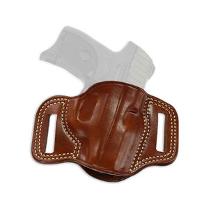 Galco Combat Master SIG Sauer P250/P320 Compact Belt Slide Holster Right Hand Leather Tan