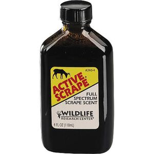 Wildlife Research Active Scrape 4 oz Glass Bottle 240-4