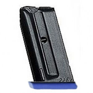 Walther GSP Expert Magazine .22 Long Rifle 5 Rounds Blue Magazine Base Plate Steel Blued Finish
