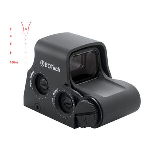 EOTech XPS2 Tactical Holographic Weapon Sight Sage Reticle 1 MOA Aiming Dot Single CR123A Battery XPS2-SAGE