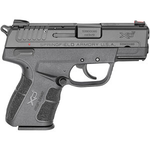 "Springfield XD-E 9mm Luger Semi Auto Pistol 3.3"" Barrel 9 Rounds Polymer Frame Black"