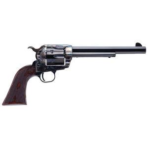 """Cimarron El Malo 2 .45 Long Colt Single Action Revolver 7.5"""" Barrel 6 Rounds Pre-War Frame Design Fixed Sights Case Color Hardened Blued Finish"""