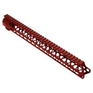 Timber Creek Outdoors Enforcer 15 Inch Hand Guard M-LOK Red Anodized M E15 HG R