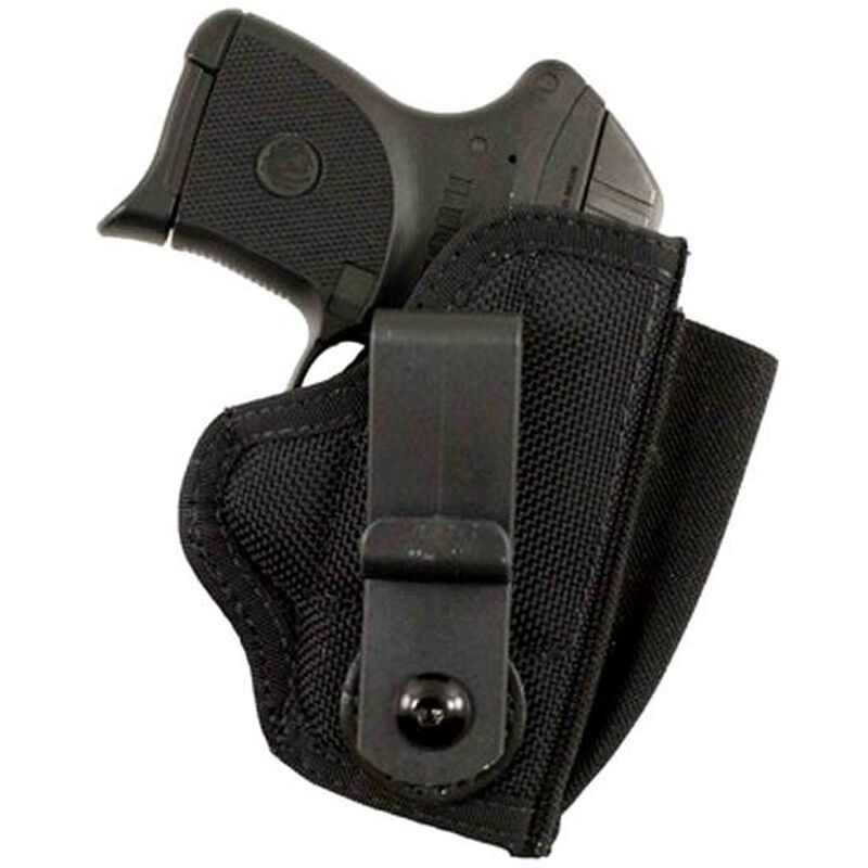 DeSantis Tuck-This II Tuckable IWB Holster Ruger LCP/Kel-Tec P3AT With  Laser Ambidextrous Nylon Black M24BJT7Z0