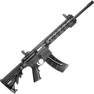 "S&W M&P 15-22 Sport .22 LR Semi-Auto Rifle 16.5"" Threaded Barrel 25 Rounds M-LOK Handguard Black"