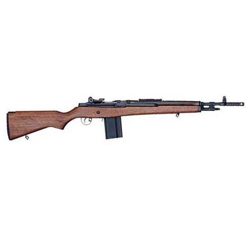 "Springfield Armory M1A Scout Squad 7.62 NATO Semi Automatic Rifle 18"" Barrel 10 Rounds Walnut Stock"