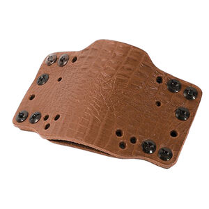 Limbsaver CrossTech Leather Compact Gun Holster Ambidextrous IWB/OWB Most RevolverCompact/Sub-Compact Semi Auto Pistol Light Brown