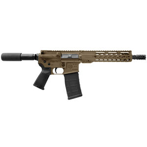 "Diamondback DB15P AR-15 Semi Auto Pistol .300 Blackout 10.5"" Barrel 30 Rounds Polymer Pistol Grip Flat Dark Earth Finish"