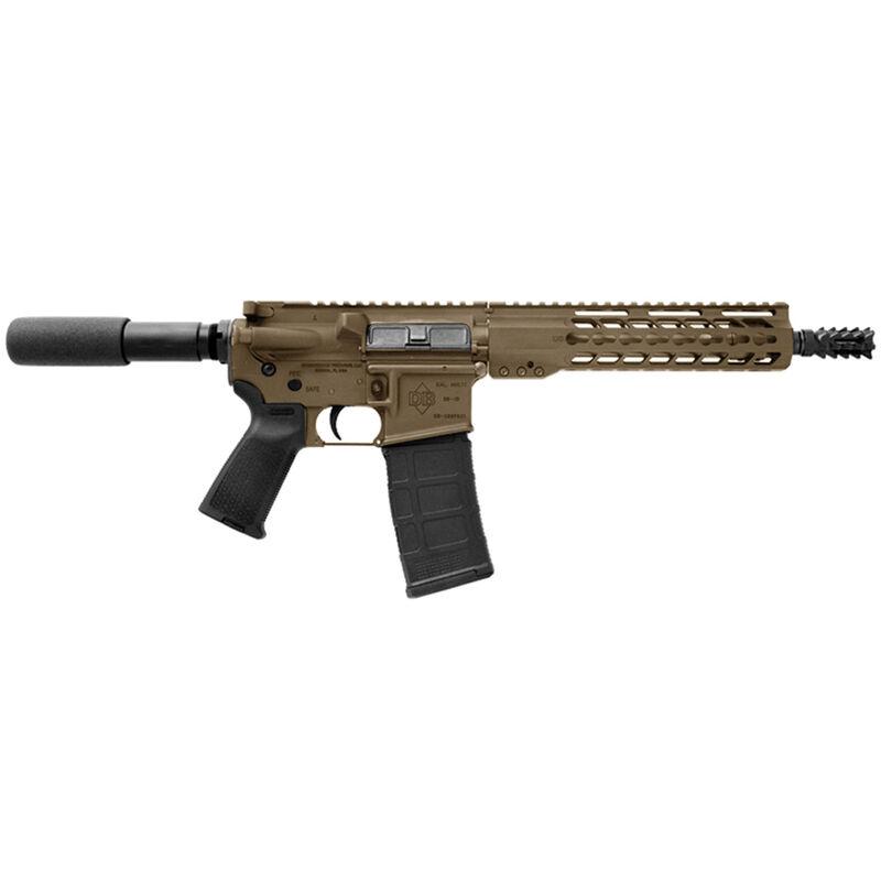 "Diamondback DB15P AR-15 Semi Auto Pistol .300 Blackout 10.5"" Barrel 30 Rounds Polymer Pistol Grip Flat Dark Earth Finish"