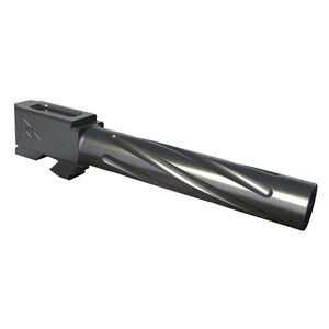 Rival Arms Barrel for GLOCK 19 Gen 3/4 Models 9mm Luger Fluted 416R Stainless Steel PVD Coating Graphite Gray Finish