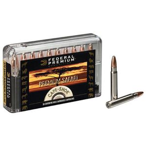 Federal Premium Safari 458 Win Mag Ammunition 20 Rounds 500 Grain Woodleigh Hydro Solid 2050 fps