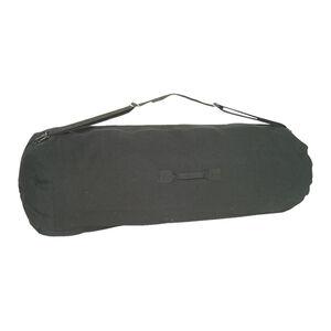 "Fox Outdoor GI Style Zippered Duffle Bag 30""x50"" Black 40-46"