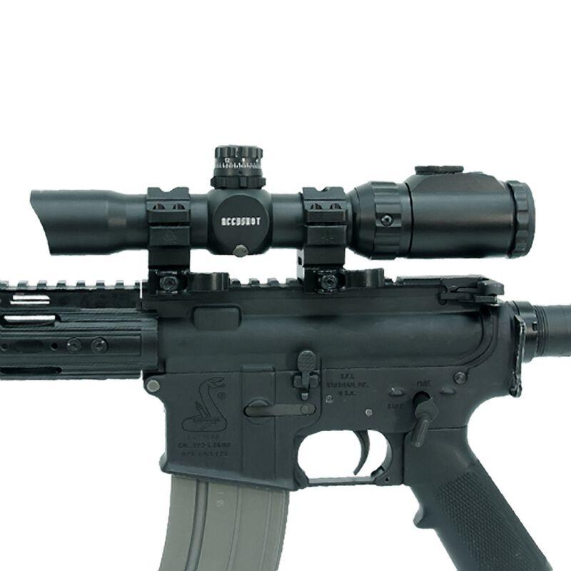 Leapers UTG 1-8x28 30mm CQB MRC Scope Circle Dot 36 Color Black SCP3-18IECDQ