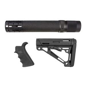 Hogue AR-15 Furniture Kit Pistol Grip Rifle Length Handguard Mil-Spec Stock Assembly Black