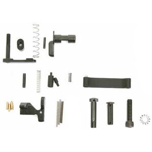 ArmaLite AR-15 M15 Lower Receiver Parts Kit Minus Trigger and Grip Black
