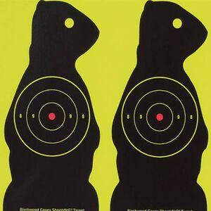 "Birchwood Casey Shoot-N-C Target 8"" Prairie Chuck 12 Pack 34786"