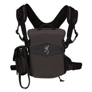 Browning Bino Hub Nylon Binocular Carry Harness Pack Black