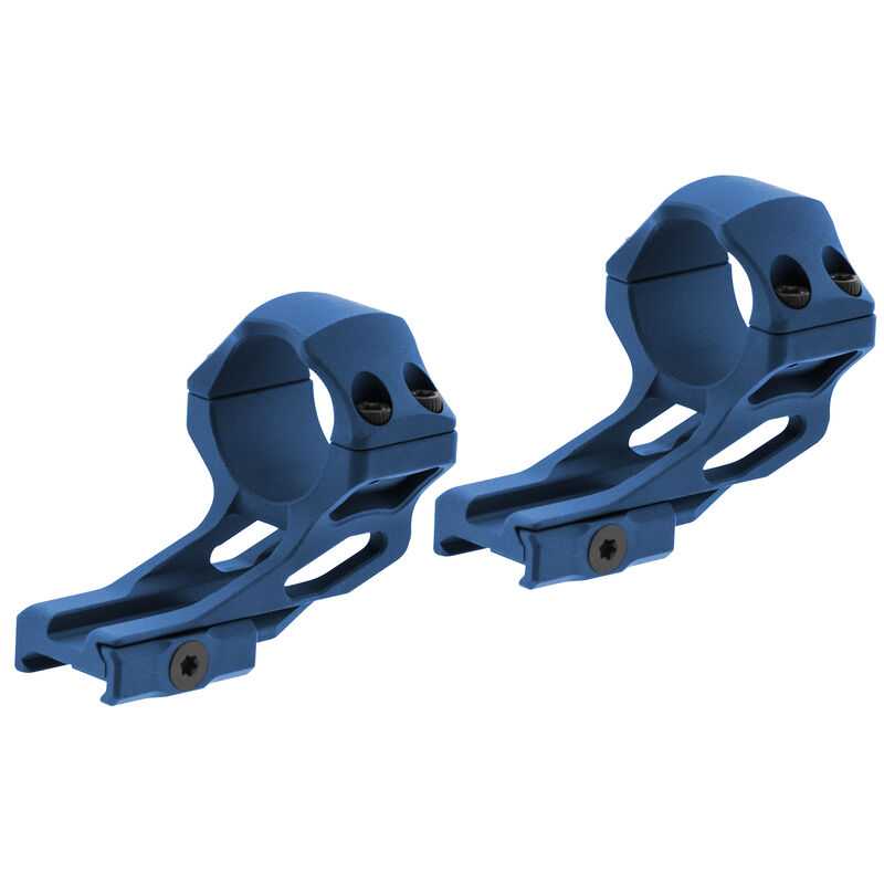 UTG ACCU-SYNC 30mm High Profile 37mm Offset Pic. Rings, Blue