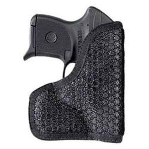 DeSantis Gunhide Super Fly Pocket Holster Kahr PM With Laser Ambidextrous Rubberized Fabric Black M44BJU2Z0